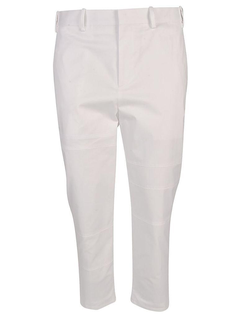 Neil Barrett Marcelo Burlon Cargo Pants In Bianco