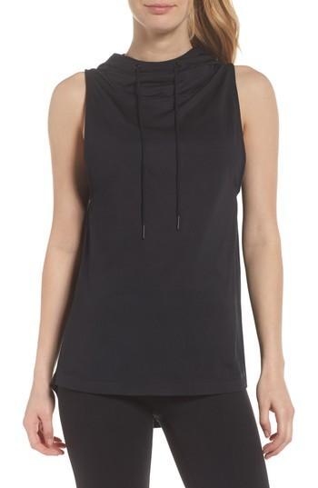 Splits59 Endurance Hoodie Vest In Black