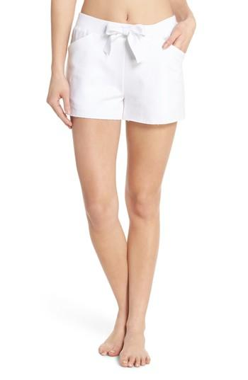 Alala Notch Shorts In White