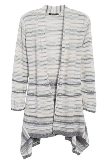 Nic + Zoe Color Mix Cardigan In Neu