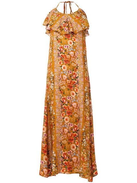 Black Coral Olivia Dress
