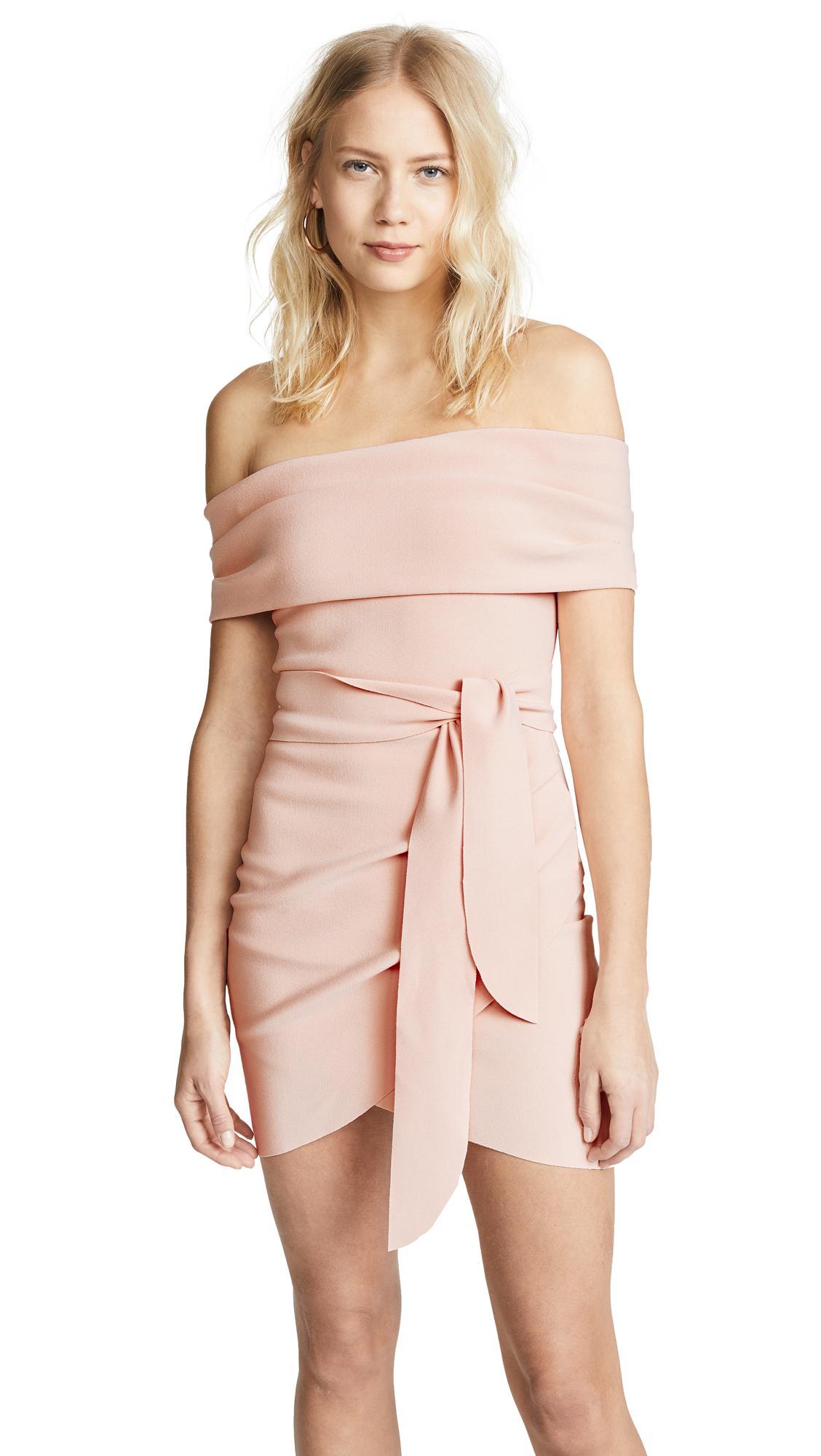 eb66016fe5dc6 Bec & Bridge Marvellouse Mini Dress In Peach | ModeSens
