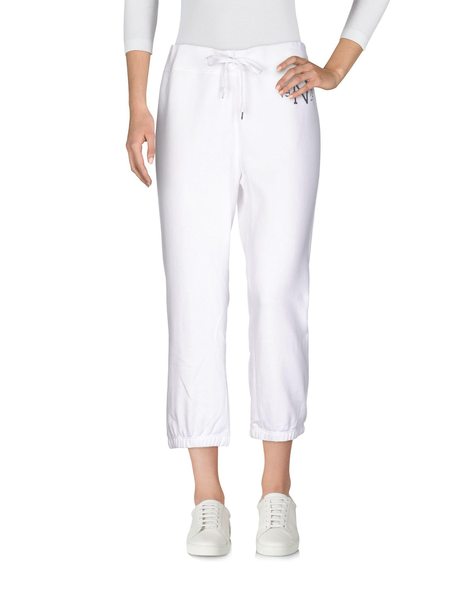 59dffe2e1dc16 Nike Cropped Pants & Culottes In White   ModeSens
