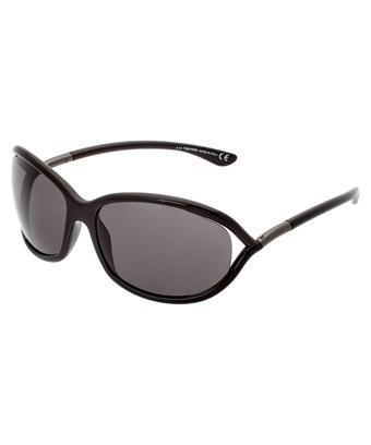 4702618773d4 Tom Ford  Jennifer  61Mm Oval Oversize Frame Sunglasses - Black ...