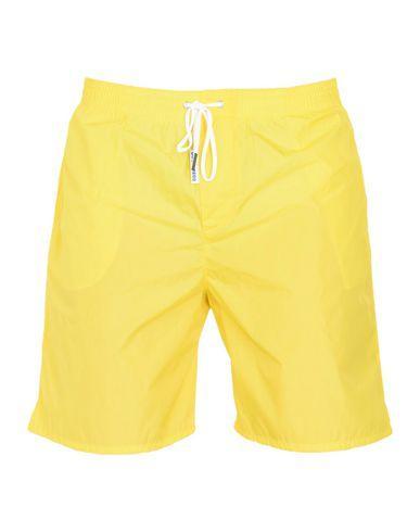 Dsquared2 Swim Shorts In Yellow