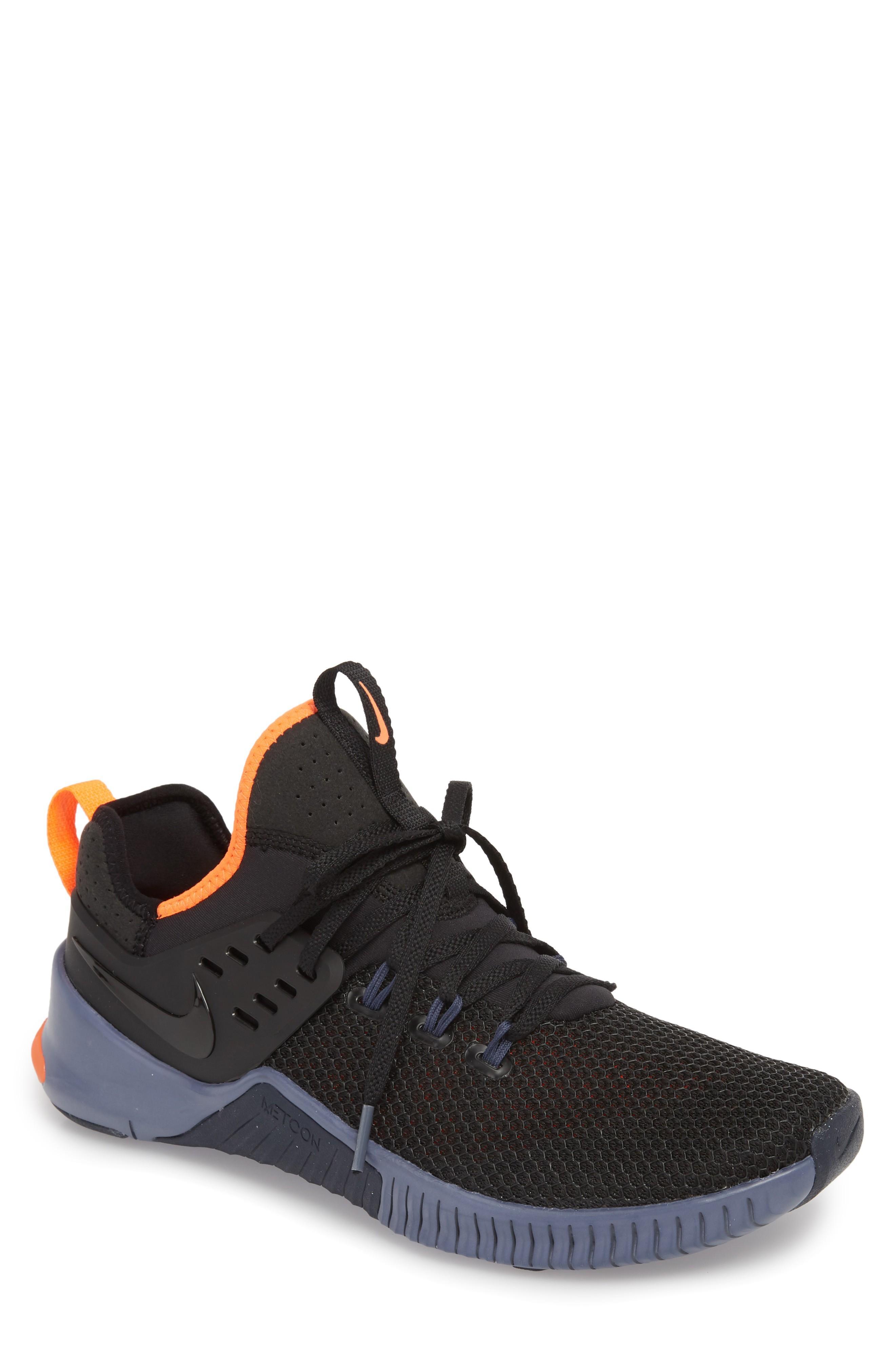 f47220ad2bb5 Nike Free X Metcon Training Shoe In Black  Thunder Blue