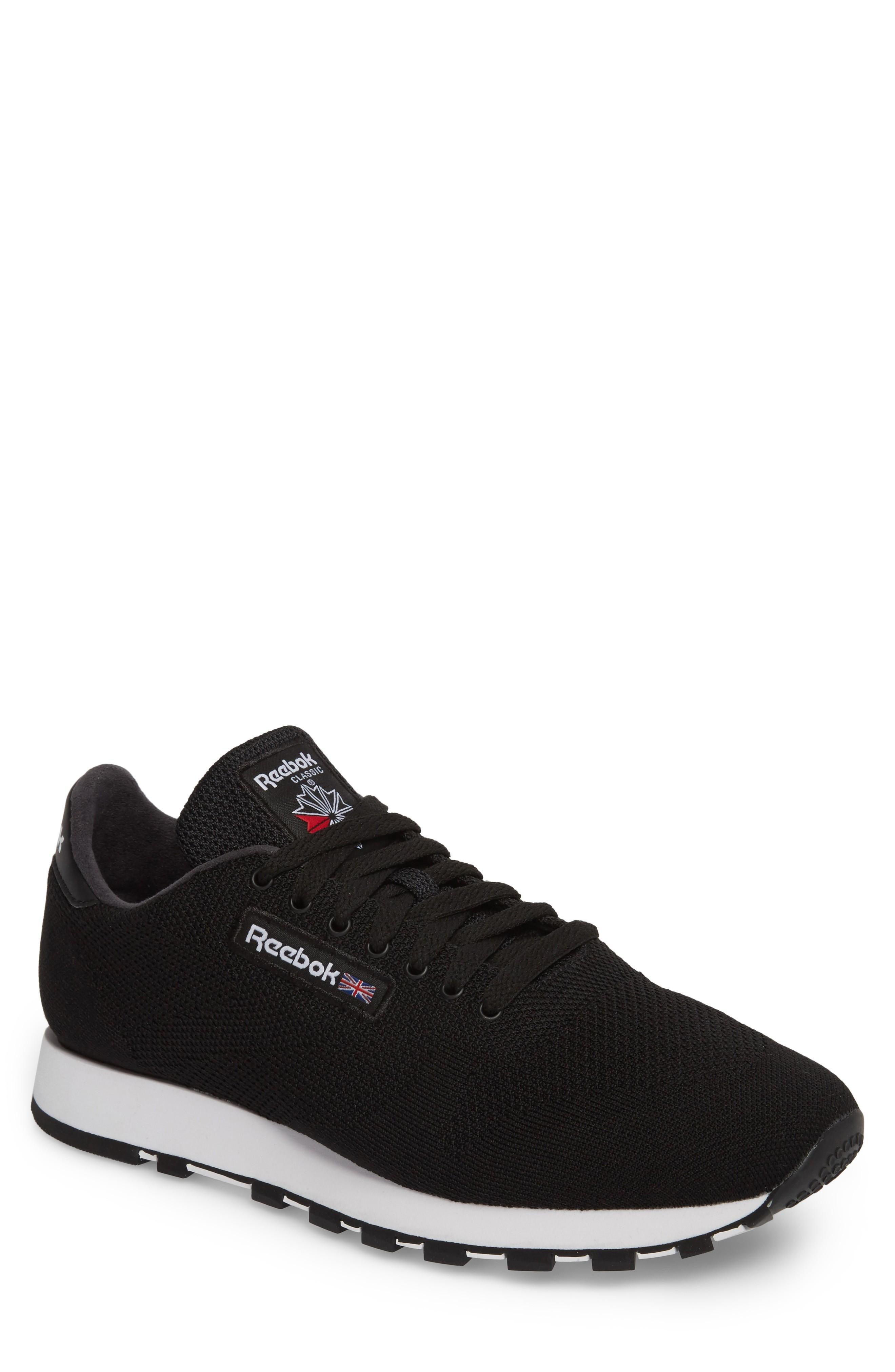 71cad2c8406 Reebok Classic Leather Ultk Sneaker In Black  White