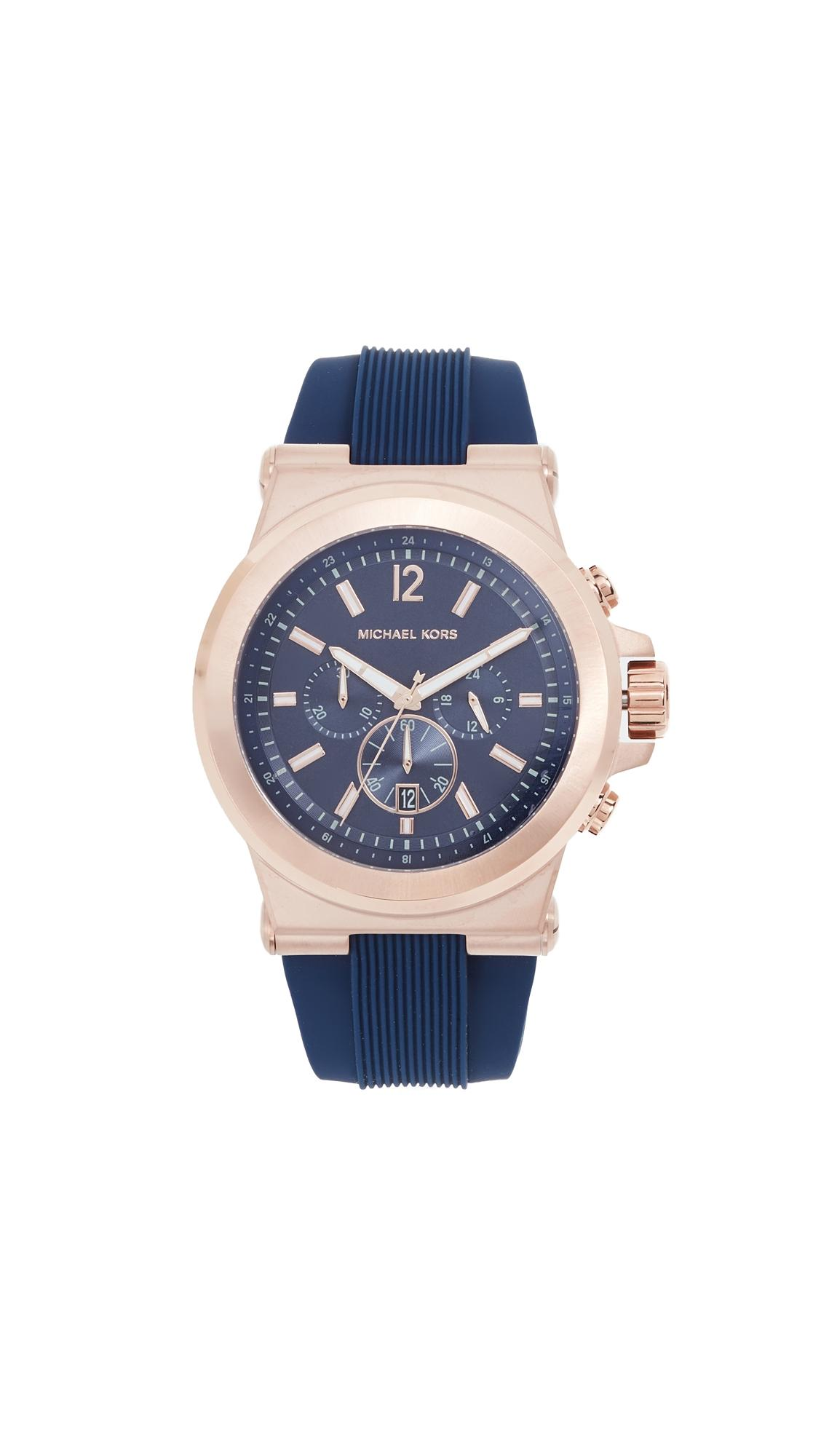 Michael Kors Brecken Watch, 44Mm In Gold