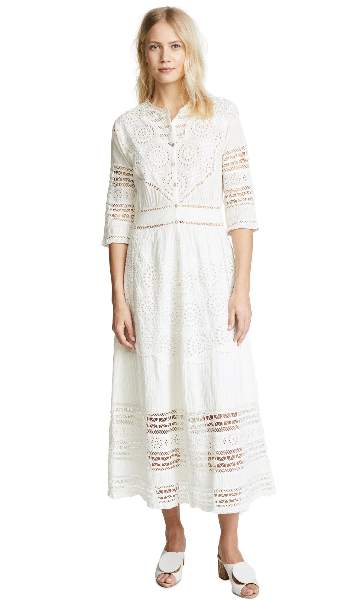 ef3f5defeb760 Loveshackfancy Rosalie Dress In Ivory | ModeSens