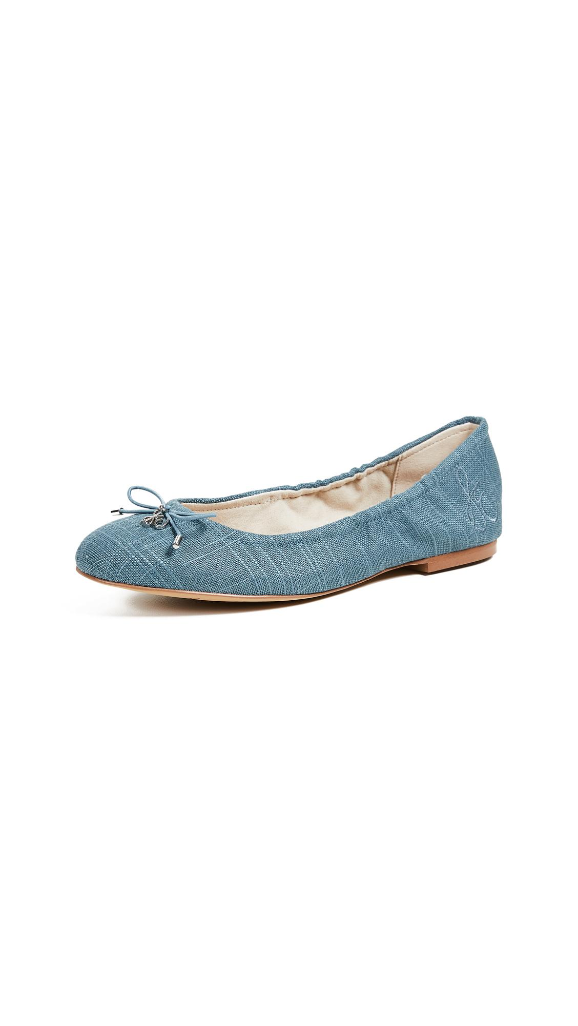 7b231a883 Sam Edelman Felicia Ballet Flats In Denim Blue