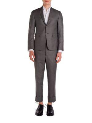 Thom Browne Classic Wool Suit In Grey