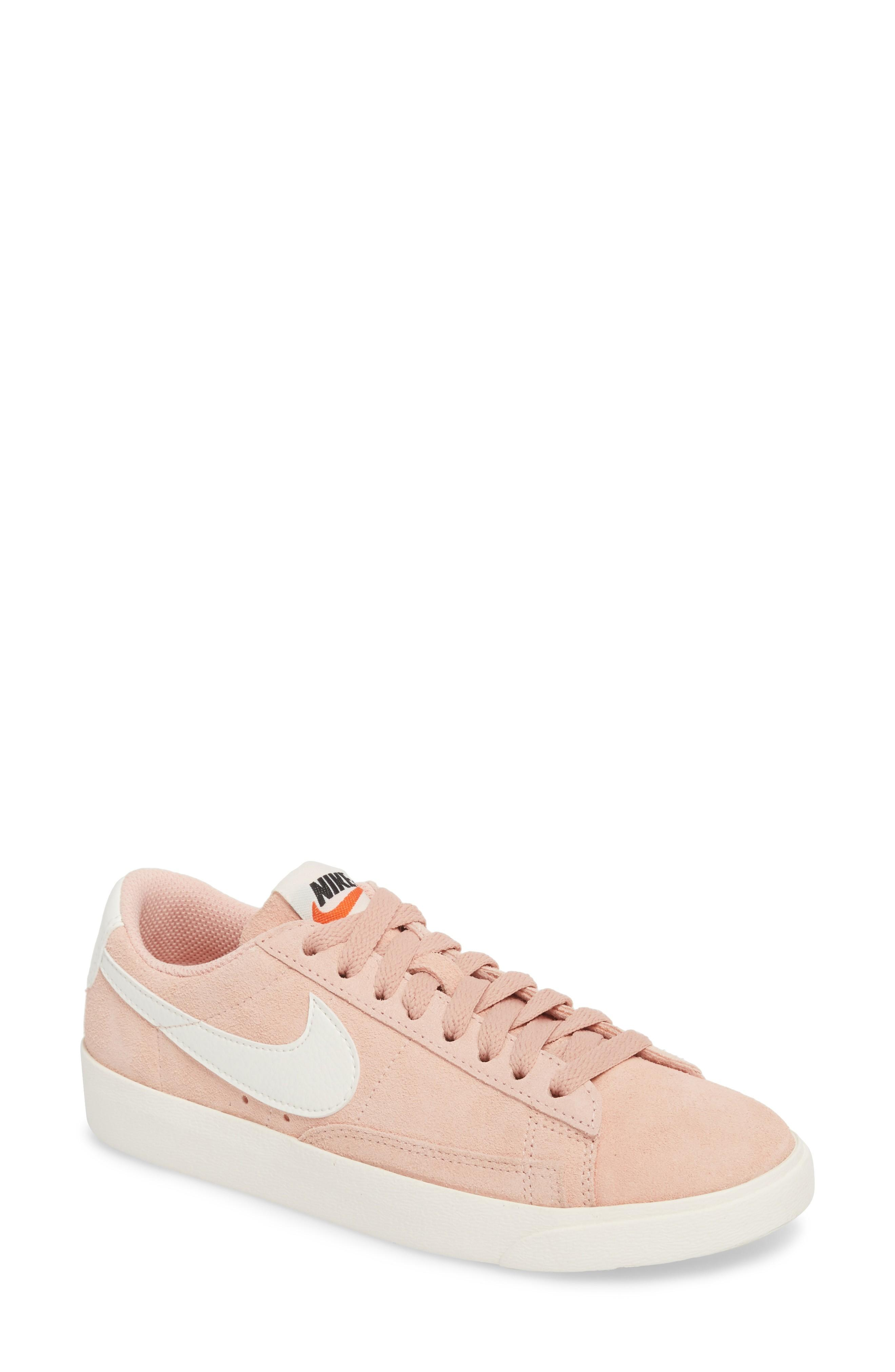 save off 82061 a796c Nike Blazer Low Sneaker In Coral Stardust  Sail