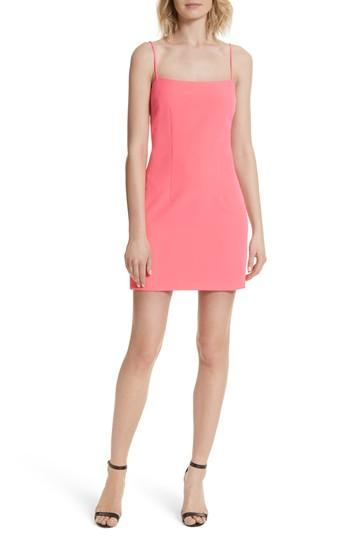 Milly Minidress In Fluorescent Pink