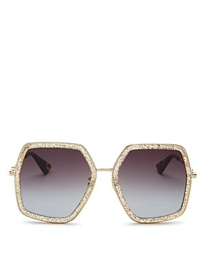 f9fe4835f56 Gucci Oversized Square Sunglasses