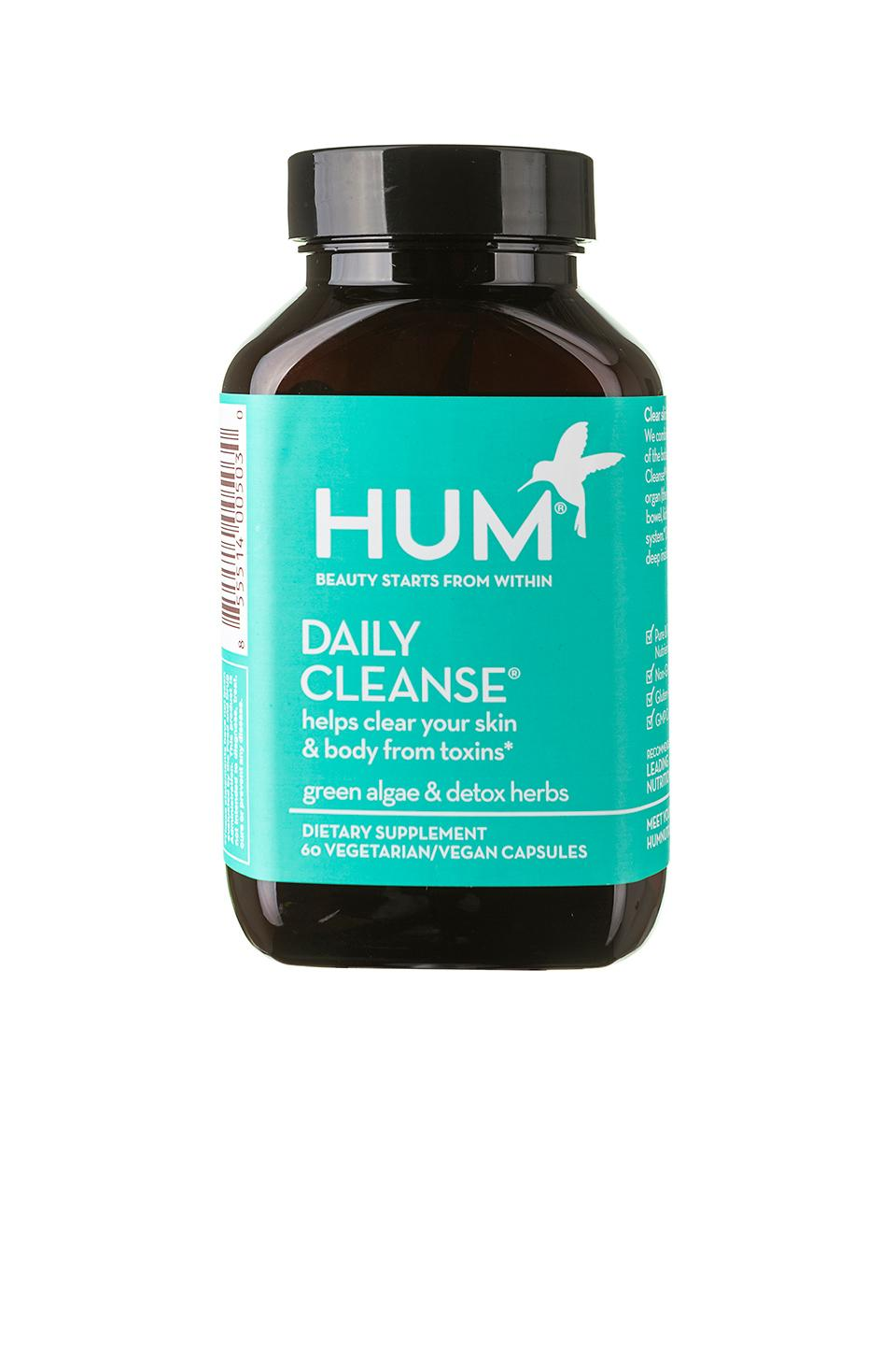 Hum Nutrition Daily Cleanse Clear Skin And Body Detox Supplement In N,a