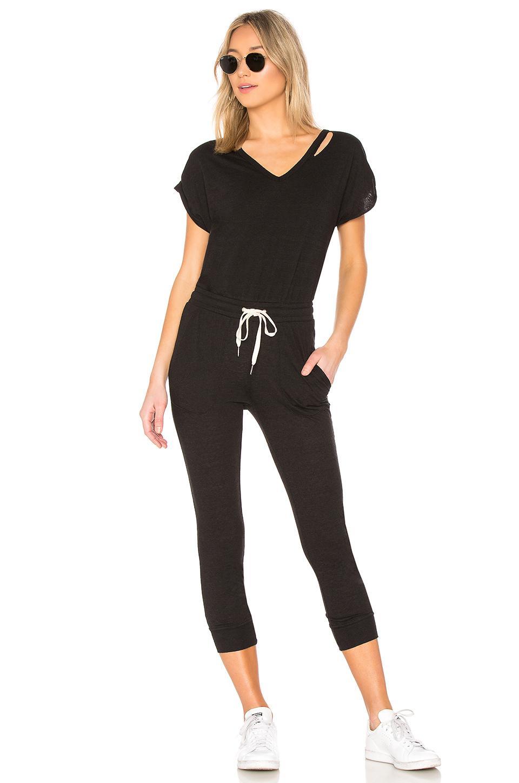 N:philanthropy Space 连身裤 – 黑色 In Black