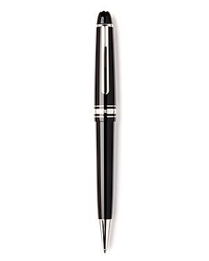 fd9add5b72bcd Montblanc Meisterstuck Platinum Line Midsize Ballpoint Pen In White ...