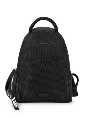 Kendall + Kylie Sloane Textured Dome Backpack In Black