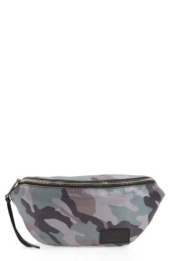 Rebecca Minkoff Nylon Belt Bag - Green In Mint
