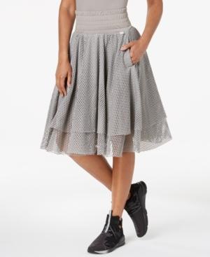 Puma Women's En Pointe Skirt, Grey