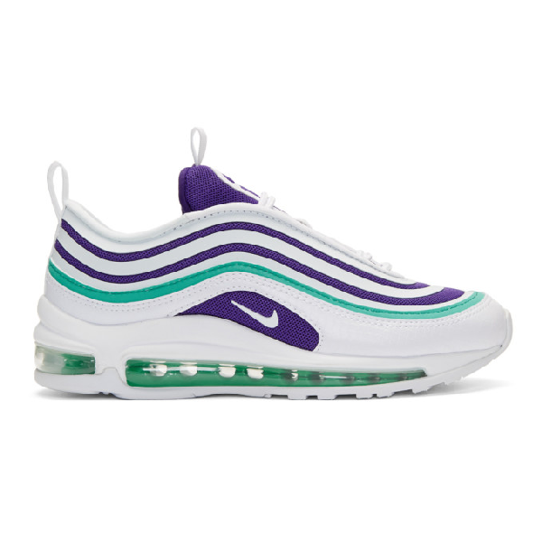 de74bf4361 Nike Women's Air Max 97 Ultra 2017 Se Casual Shoes, White In 102 ...