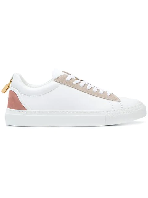 Buscemi Tennis Lock Sneaker In White