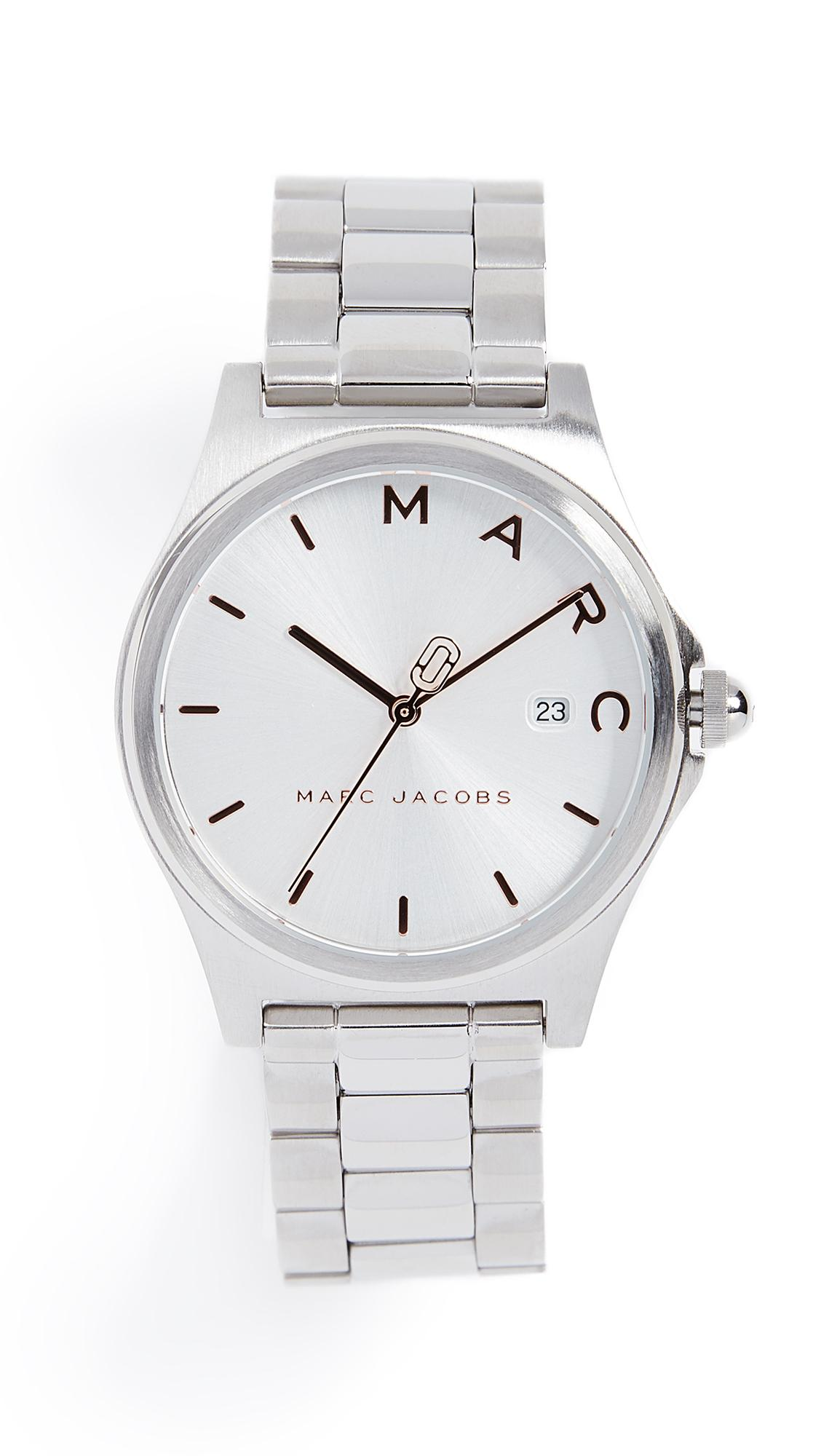 Marc Jacobs Henry Tech Watch, 36mm In Stainless Steel