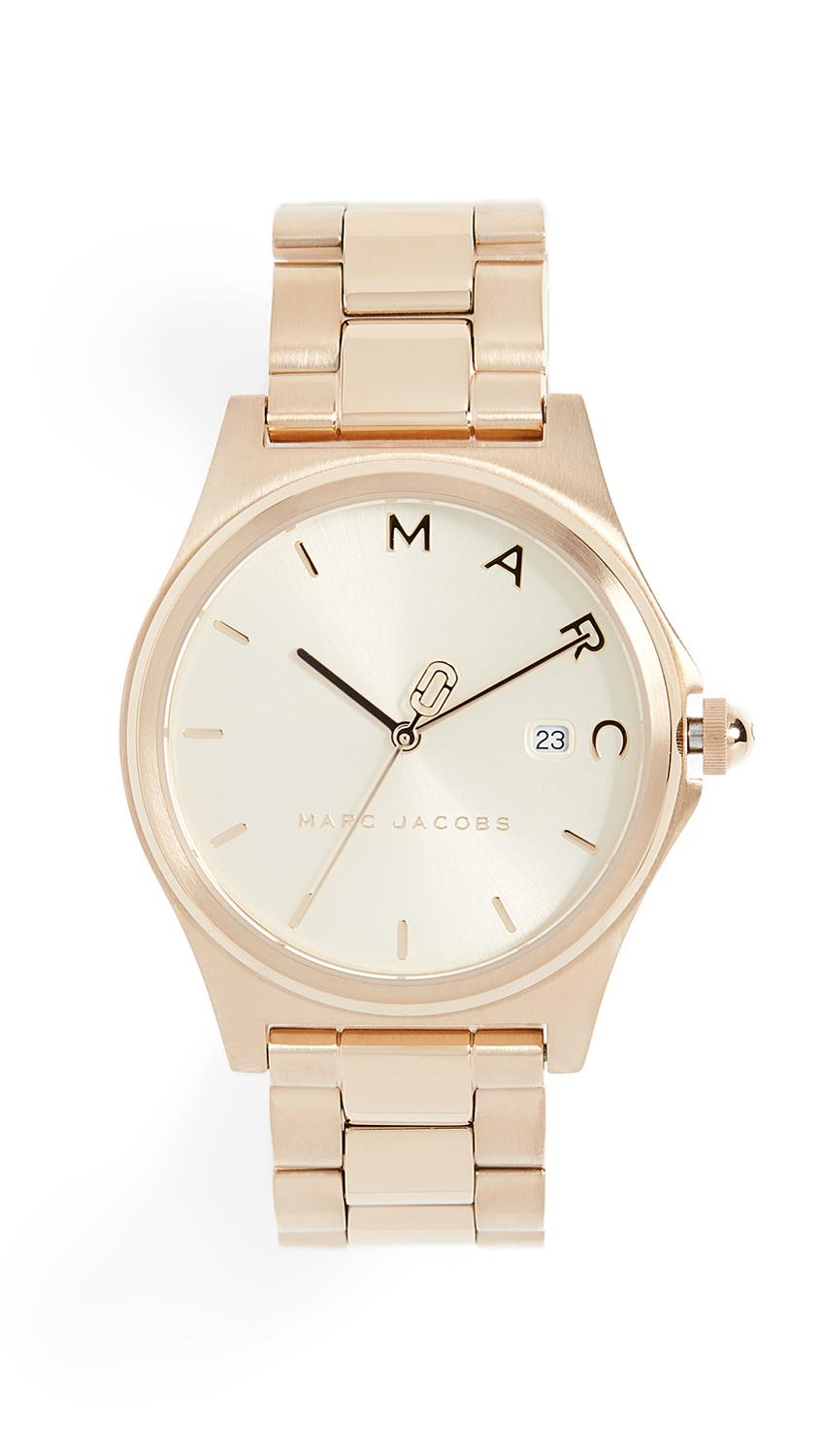 Marc Jacobs Henry Tech Watch, 36mm In Gold