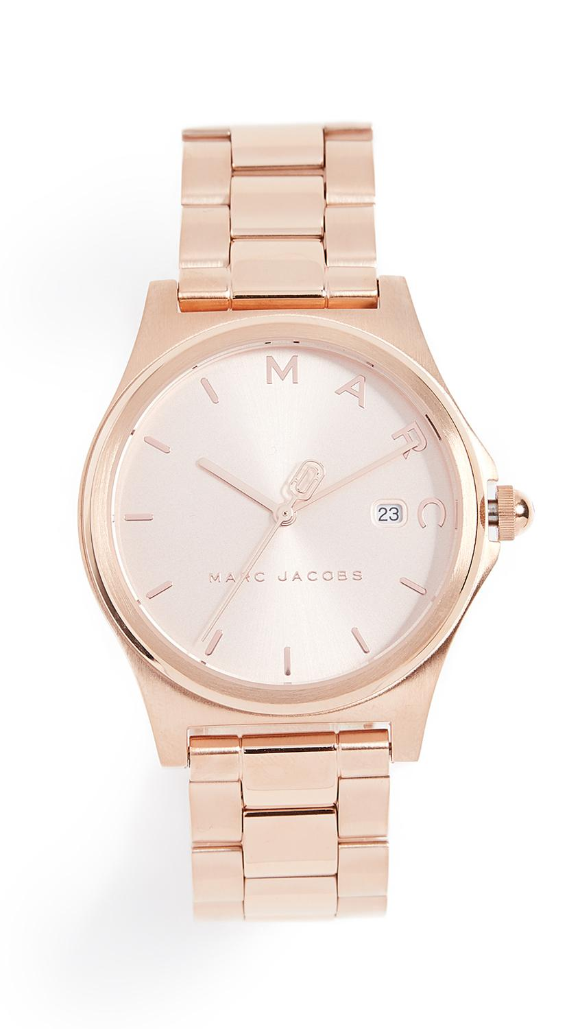 Marc Jacobs Henry Tech Watch, 36mm In Rose Gold
