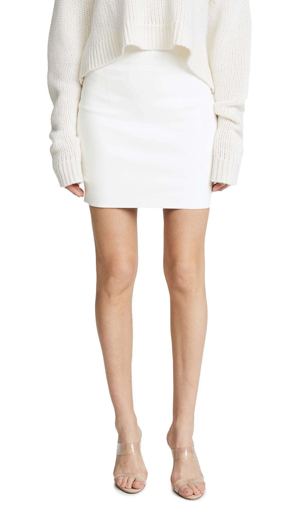 Sablyn Lisa Skirt In White