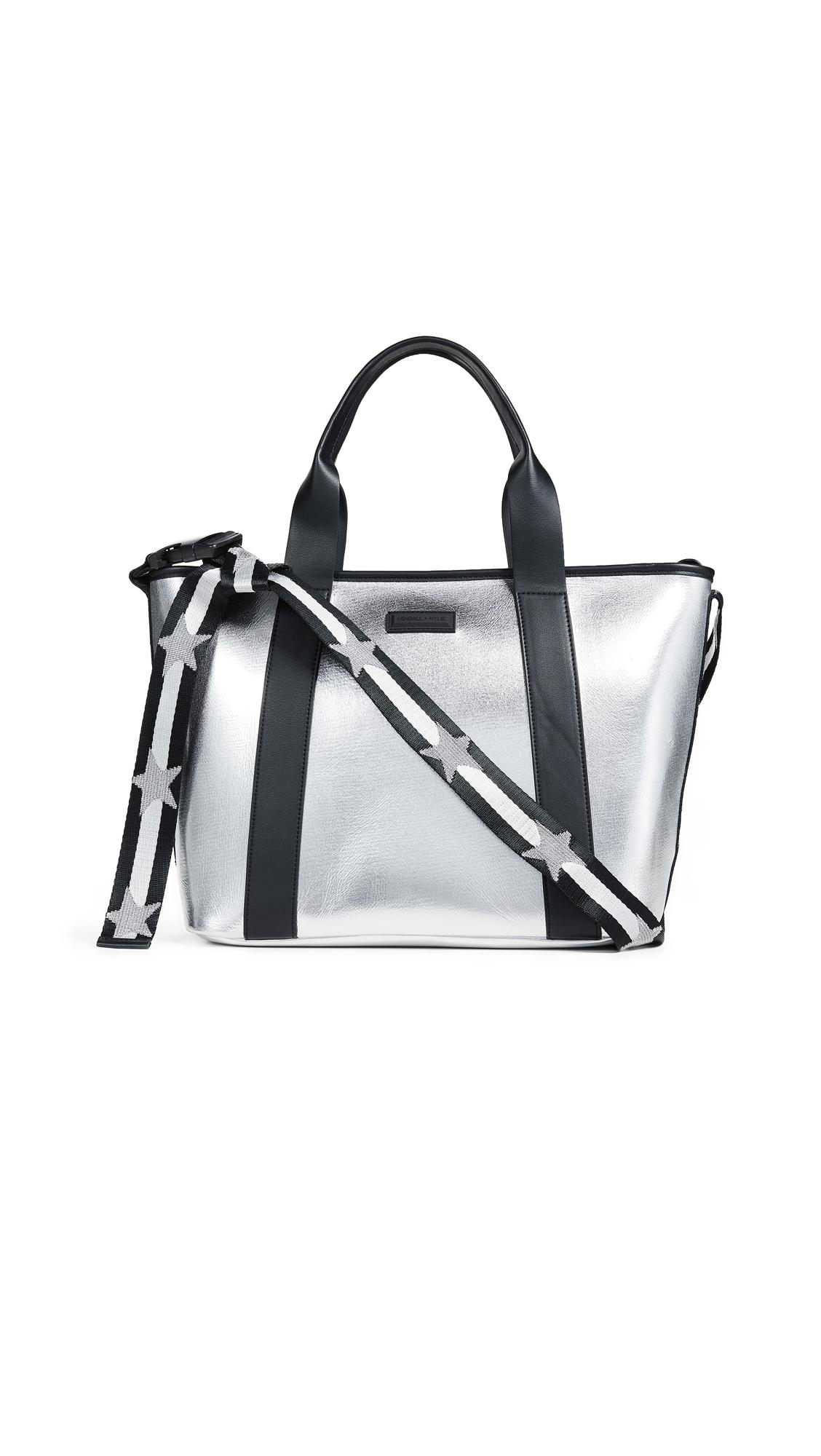 Kendall + Kylie Jazz Tote In Silver
