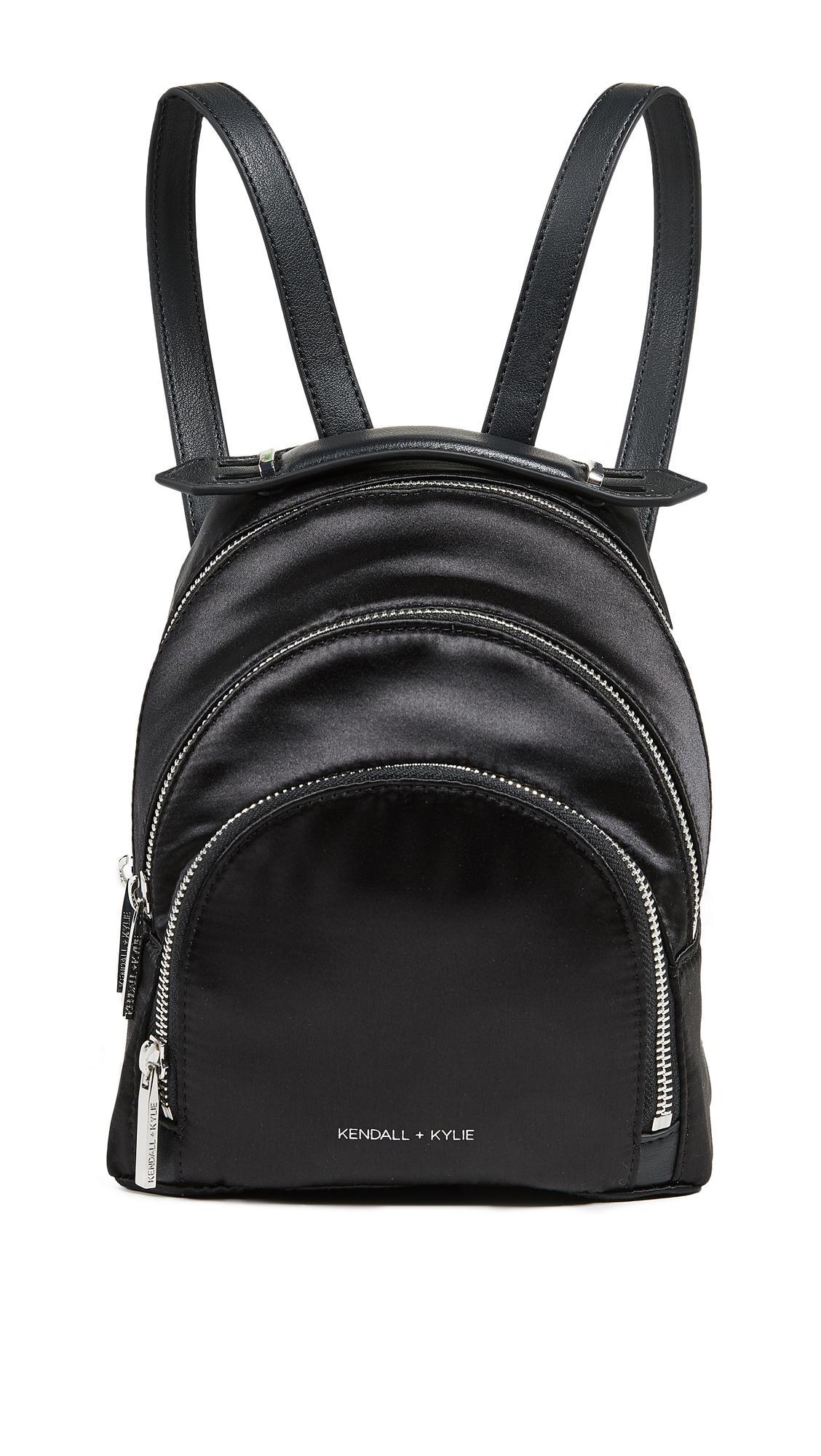 Kendall + Kylie Sloane Mini Backpack In Black