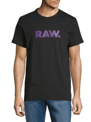 G-star Raw Xenoli Raw Tee In Black