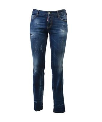 Dsquared2 Men's  Blue Cotton Jeans