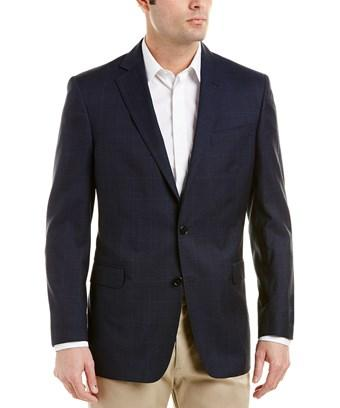 Brooks Brothers Regent Fit Wool Sportcoat In Blue