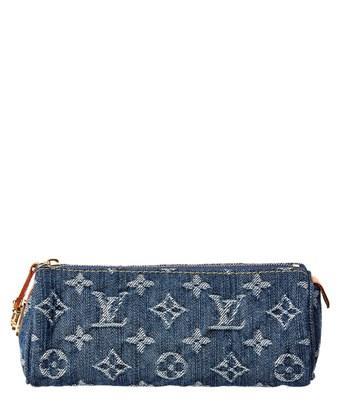Louis Vuitton Blue Denim Truth Speedy Gm In Nocolor
