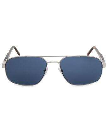Montblanc Aviator Sunglasses Mb648s 16v 59 In Silver