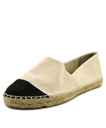 Tory Burch Colorblock Canvas Flat Espadrill Shoes In Multiple Colors
