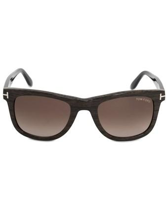 Tom Ford Leo Square Sunglasses Ft0336 05K 52 | Brown Acetate Frame | Brown Gradient Lenses