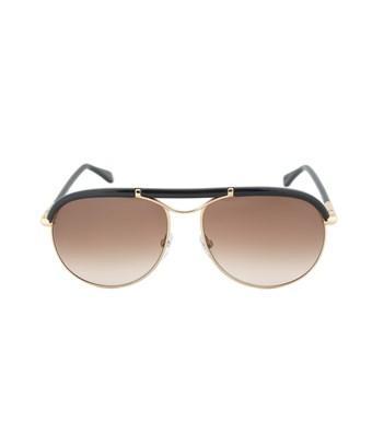 Tom Ford Marco Aviator Sunglasses Ft0235 28f 59 | Gold Metal Frame | Brown Gradient Lenses