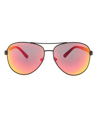 Dkny Dy5084 12336q Black/orange Red Aviator Sunglasses