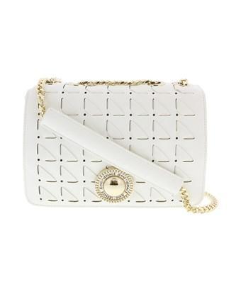 Versace Jeans Ee1vrbbd4 White Shoulder Bag