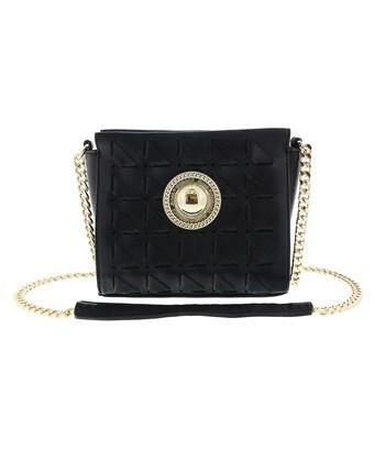 Versace Jeans Ee1vrbbd6 Black Shoulder Bag