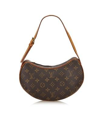 Louis Vuitton Pre-owned: Monogram Croissant Mm In Brown