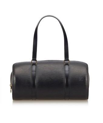 Louis Vuitton Pre-owned: Epi Soufflot In Black