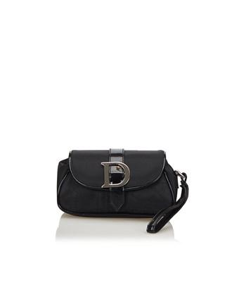 Dior Pre-owned:  Wristlet In Black