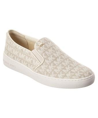 Michael Michael Kors Keaton Slip-on Sneaker In White