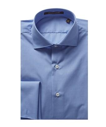 Roberto Cavalli Dress Shirt In Blue