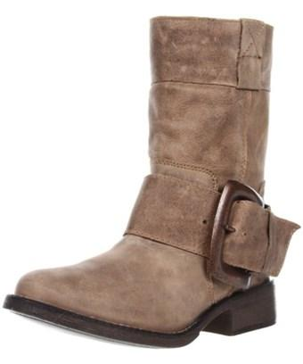 Betsey Johnson Womens Ariss Leather Closed Toe Mid-calf Fashion Boots In Brown