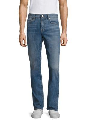 7 For All Mankind Unwound Straight Fit Jeans In Amalfi Coast
